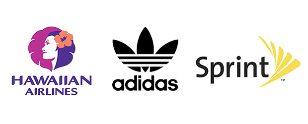 types-of-logos-combination-hawaiian-airlines-adidas-sprint4